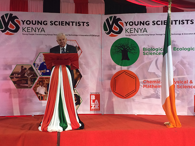 Dr. Tony Scott, Founder of Young Scientists concept