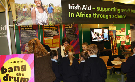 Irish Aid at BT Young Scientist Exhibition