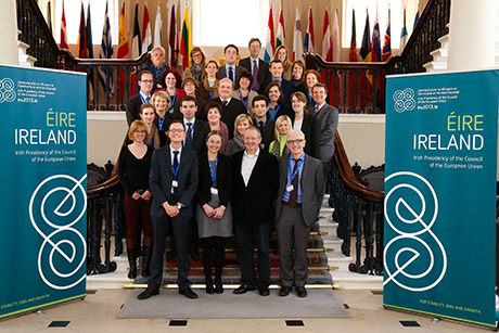 family photo from COHAFA 2013, Dublin Castle