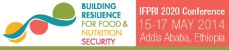 International Food Policy Research Institute 2020 Resilience Conference