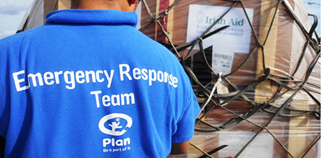 Plan Ireland airlift emergency supplies to Philippines