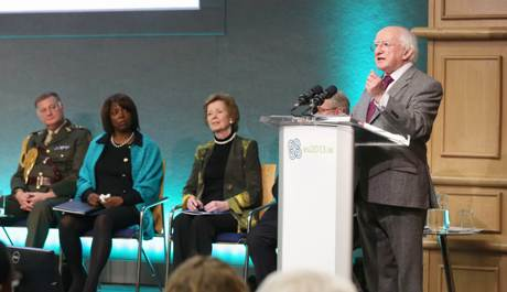 President Higgins' adress to the Hunger Nutrition and Climate Justice Conference 15-16 April 2013