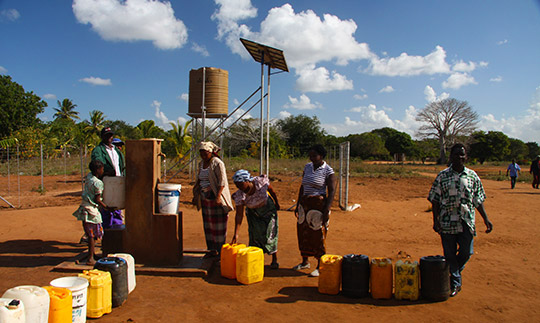 Access to water in Inhambane province, Mozambique